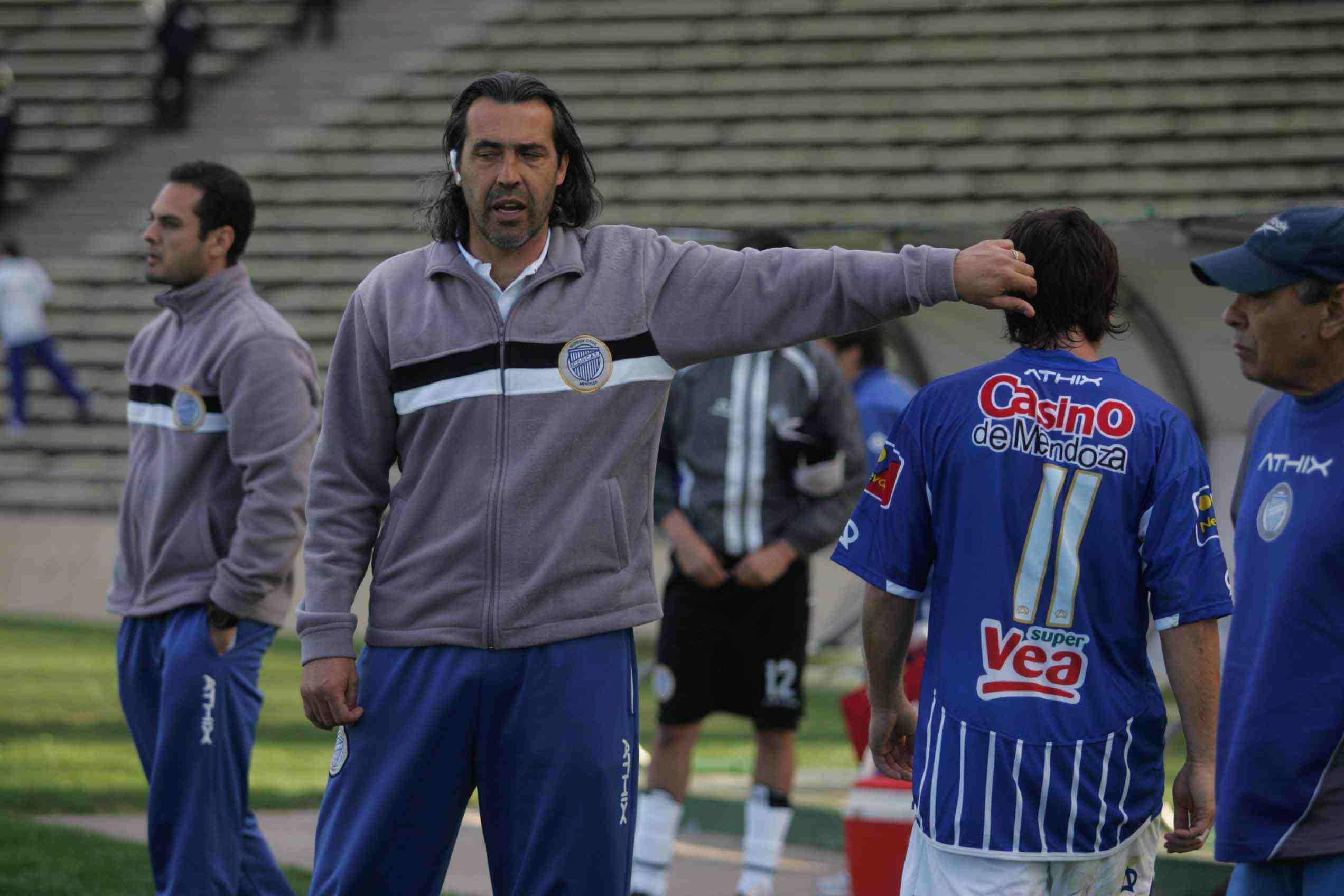 Sergio Batista y su recuerdo como entrenador de Godoy Cruz