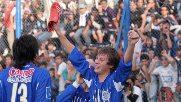 David Fernández y el recuerdo de los goles a Independiente Rivadavia