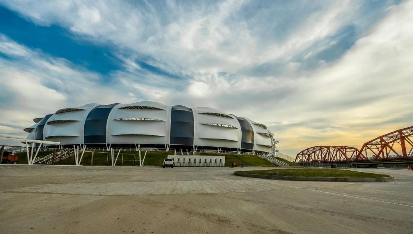 Imponente: así es el nuevo estadio de Santiago del Estero, terminado en tiempo récord