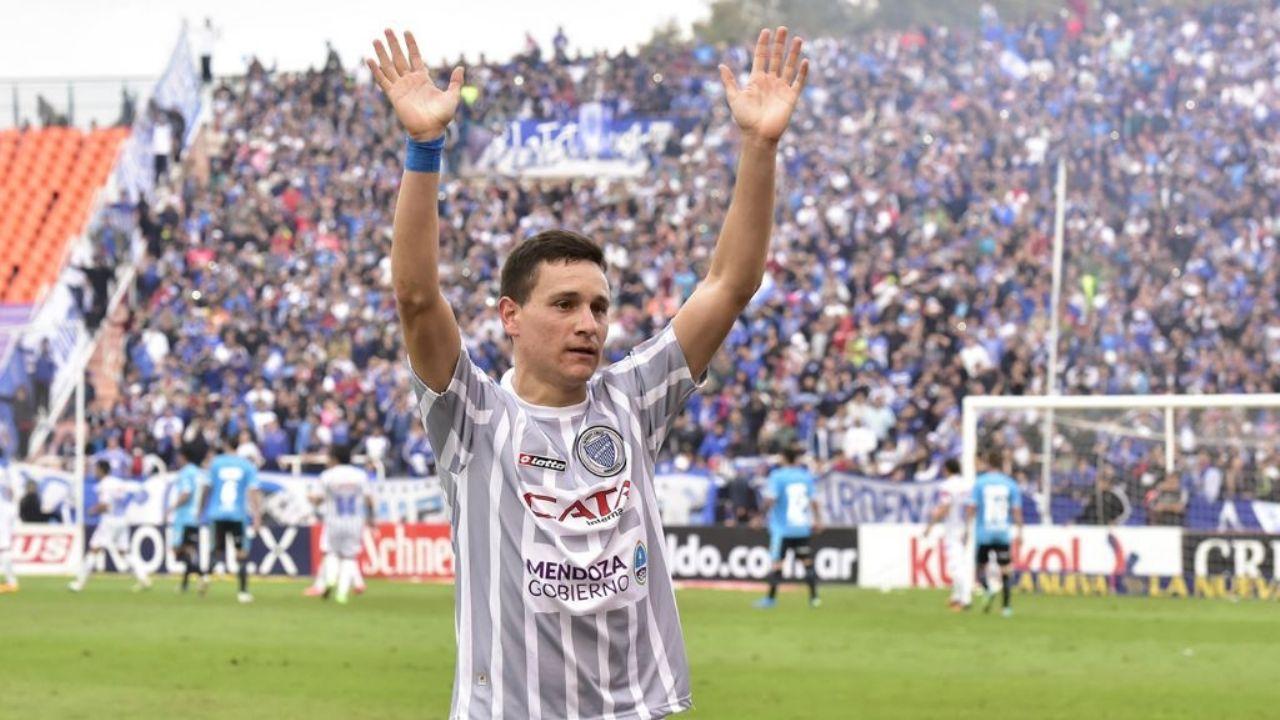 """Fernando Zuqui: """"Sería muy lindo volver a Godoy Cruz. Es el club que amo"""""""