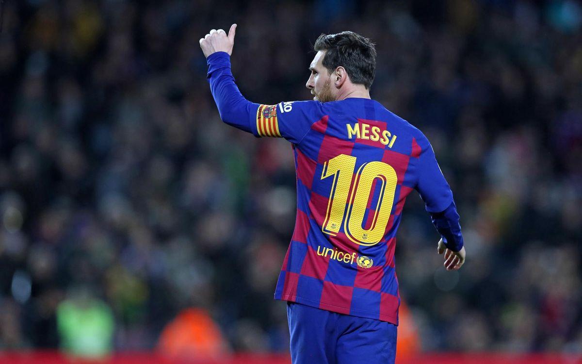 ¿Llega Messi al reinicio de la Liga?