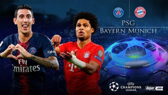 PSG y Bayern Munich definen la UEFA Champions League