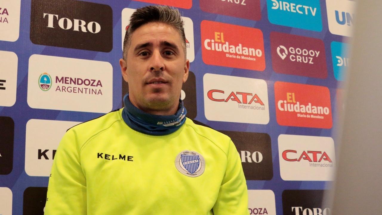 "Nelson Ibáñez: ""mi sueño es retirarme con la camiseta de Godoy Cruz"""