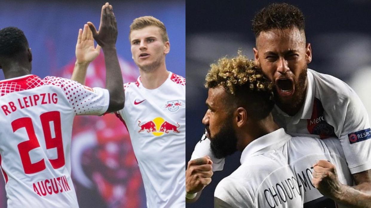 PSG y Leipzig van por el pase a la final de la Champions League