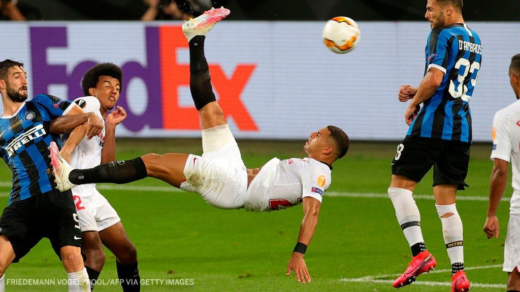 Un gol de chilena que vale un título para el Sevilla