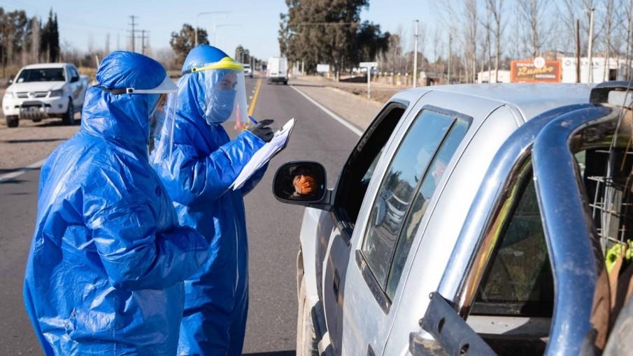 Se confirmaron 349 casos positivos de coronavirus en Mendoza