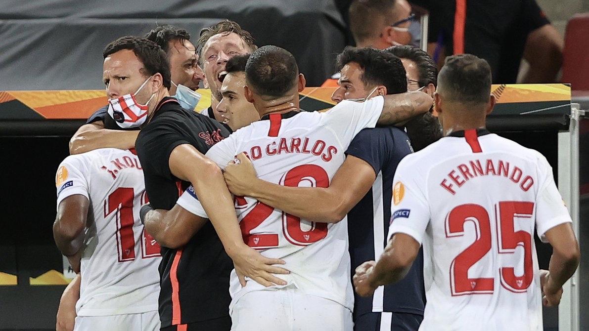 Sevilla le ganó al Inter y se consagró campeón de la Europa League