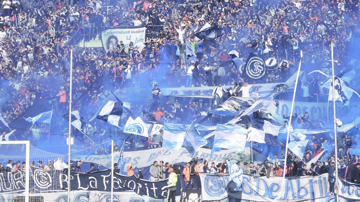 Fin de semana de hinchadas: Independiente Rivadavia