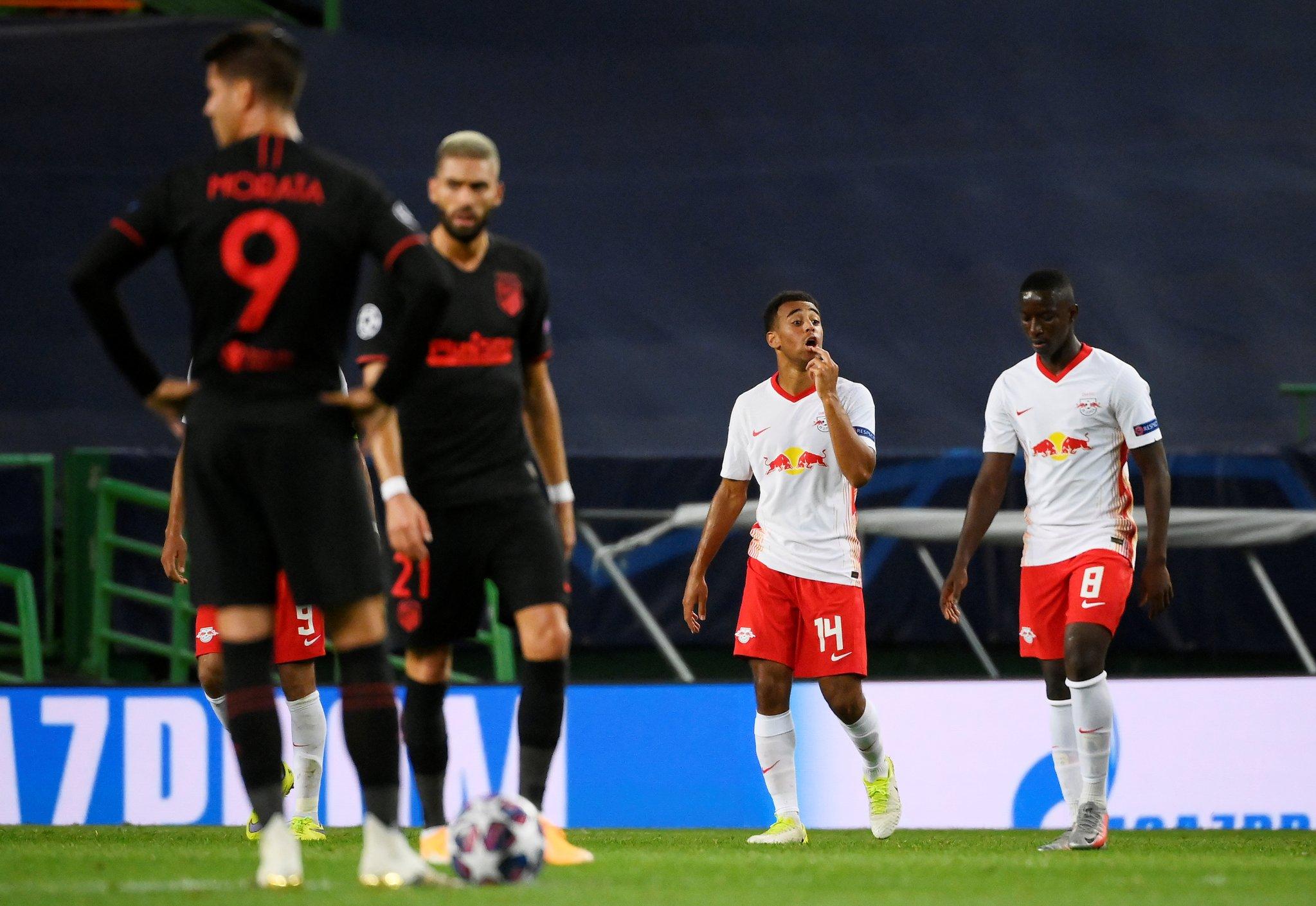 Leipzig eliminó al Atlético Madrid y se clasificó a semifinales de la Champions League