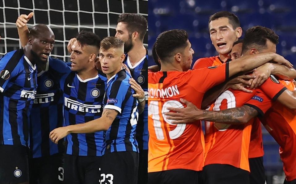 Inter y Shaktar se miden por el pase a la final de la UEFA Europa League