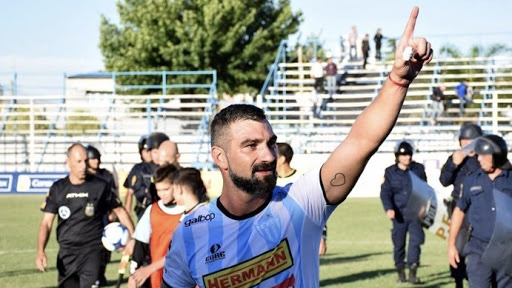 La alegría de Paolo Impini por llegar a Independiente Rivadavia