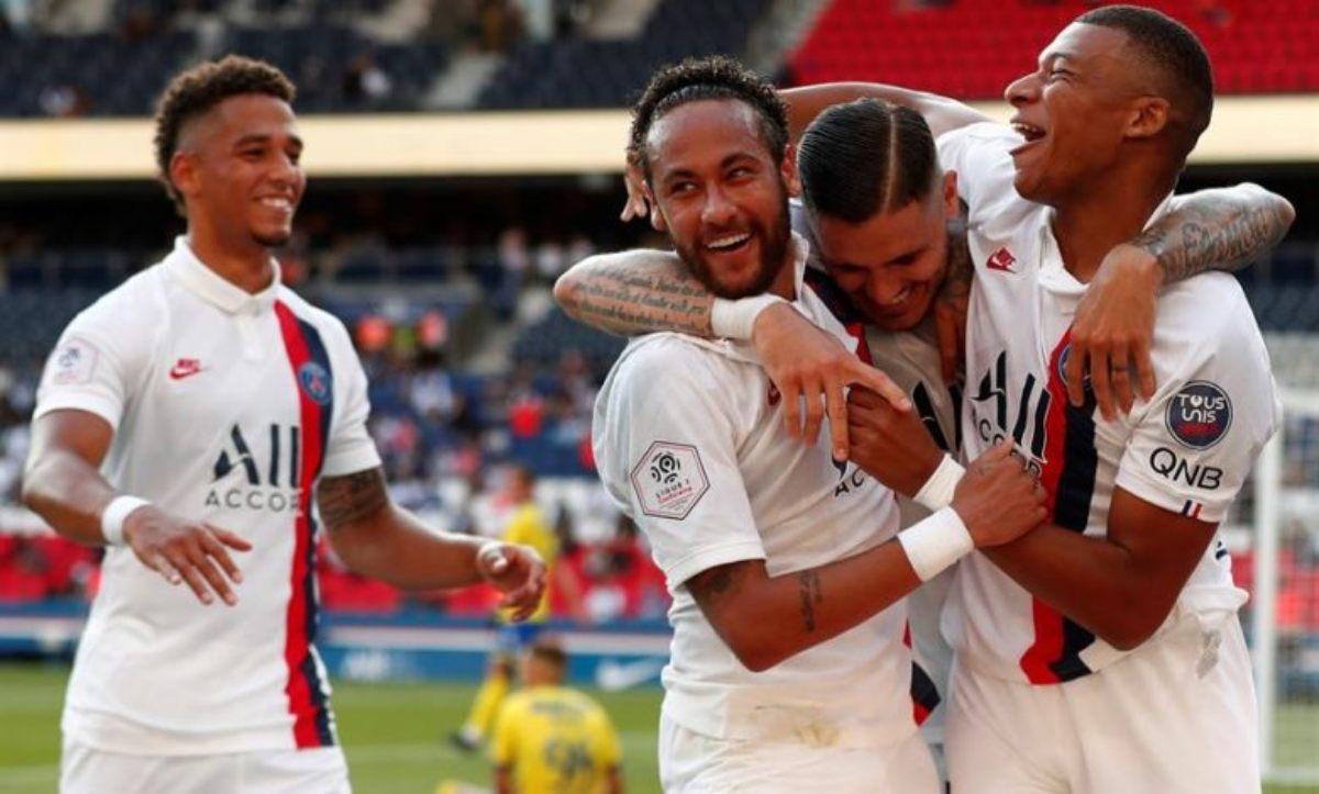 PSG eliminó Atalanta y se clasificó a semifinales de la Champions League