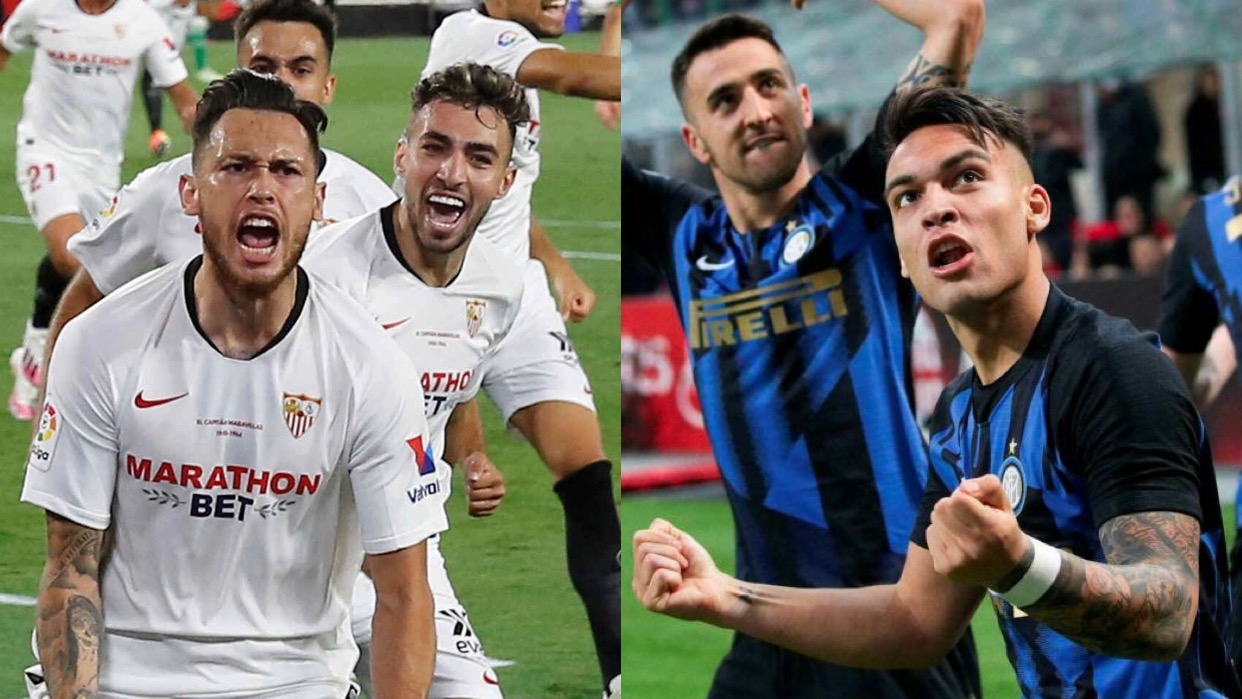 Inter y Sevilla definal la UEFA Europa League