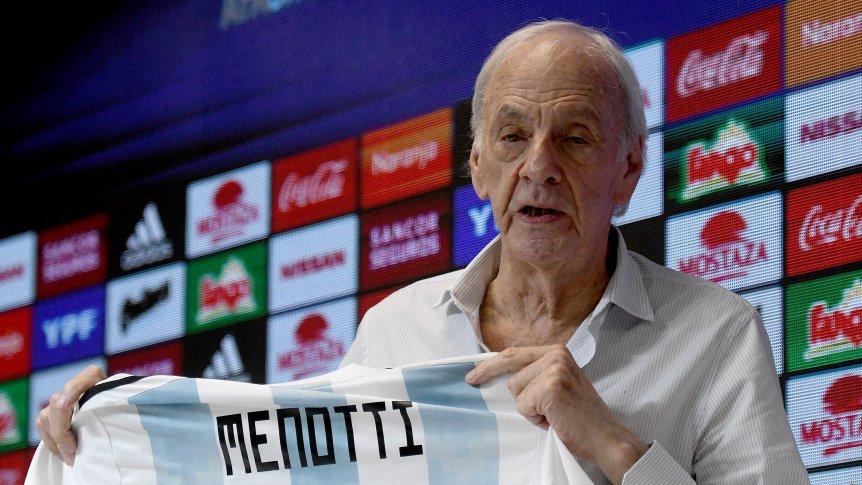Menotti fue declarado como Personalidad Destacada del Deporte