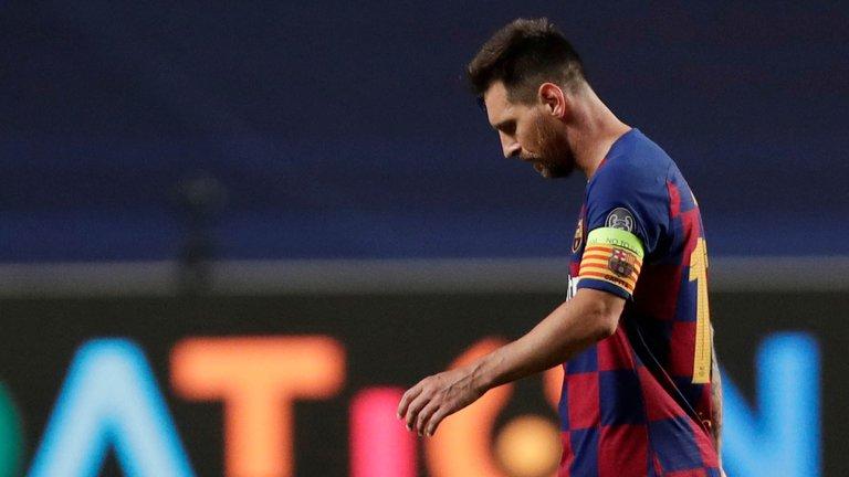 Messi no se presentará a los entrenamientos del Barcelona