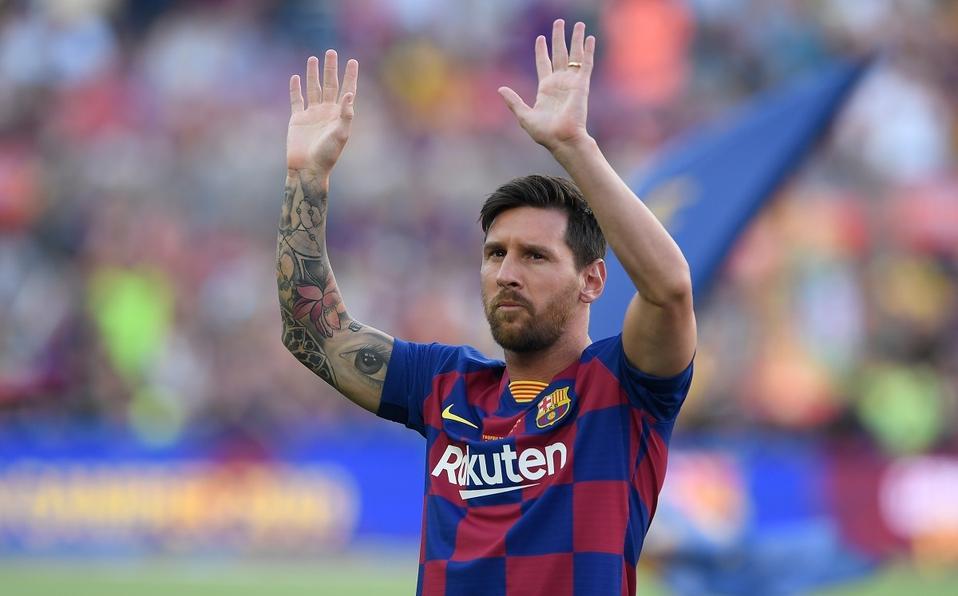 """Messi: """"Voy a seguir en el Barcelona, jamás le haría juicio al club de mi vida"""""""