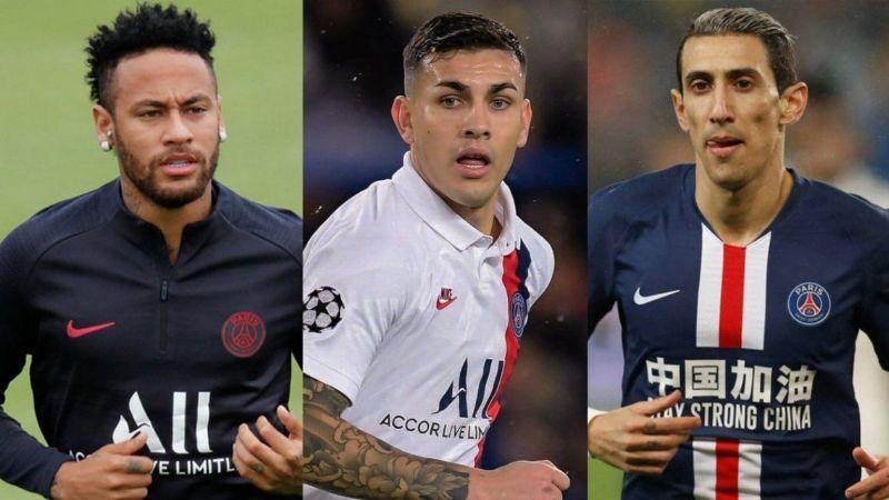 Neymar, Paredes y Di María tienen coronavirus