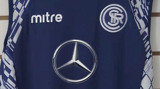 Así se vería el logo de Mercedes Benz en la camiseta de Independiente Rivadavia