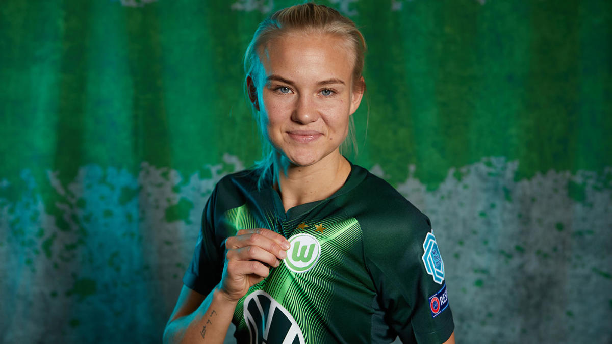 Pernille Harder, el pase más caro en la historia del fútbol femenino