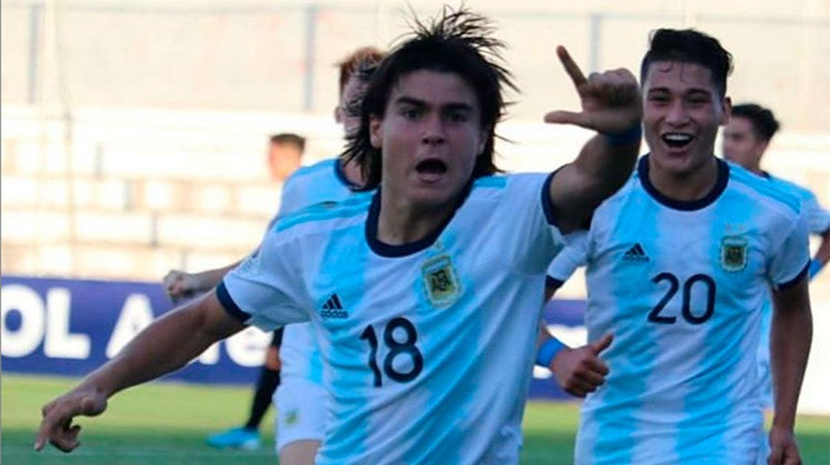La Selección de España quiere al argentino Luka Romero