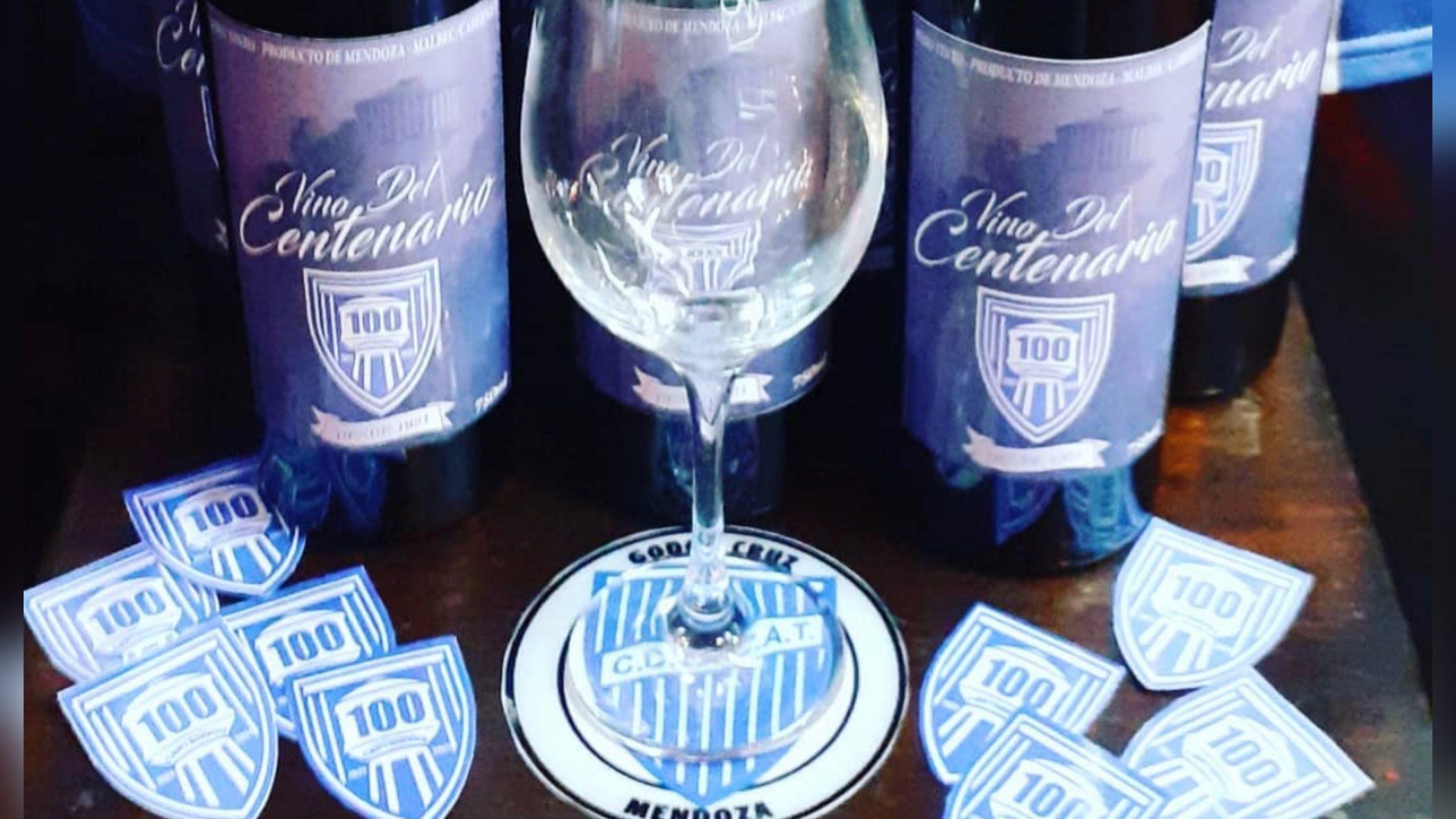 Godoy Cruz ya tiene su vino del Centenario