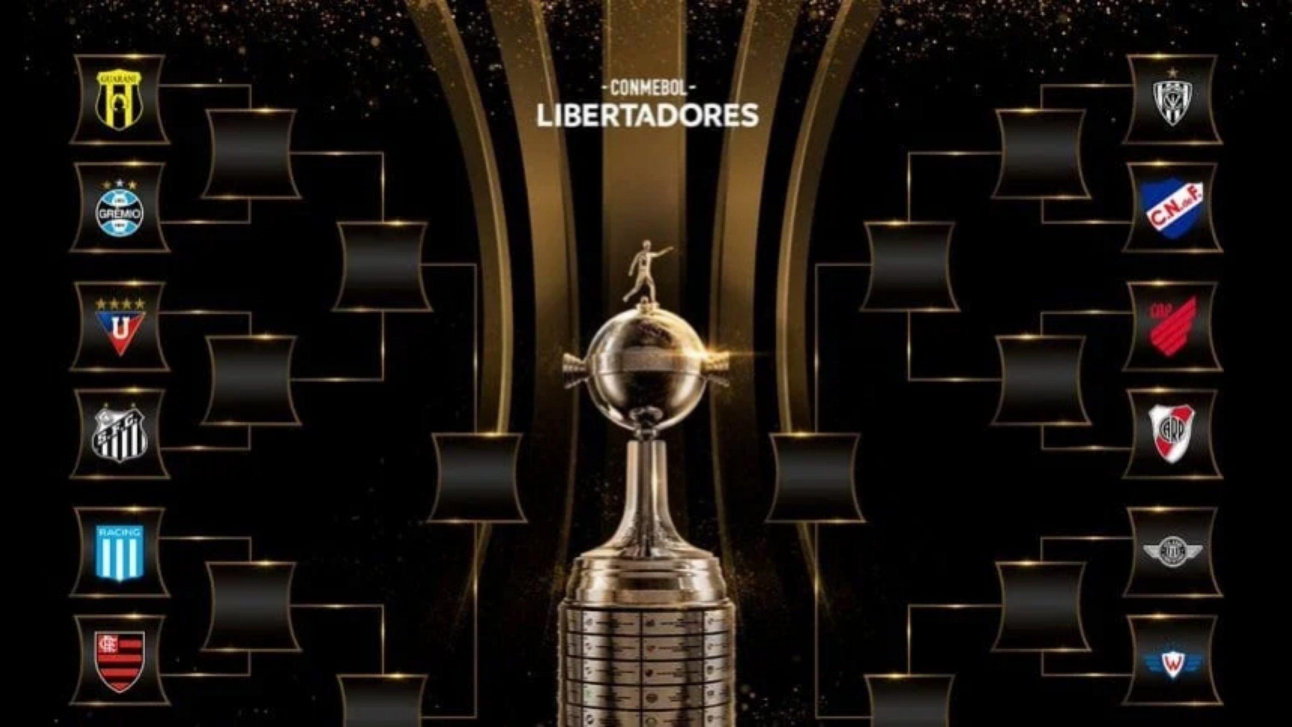 Así quedaron los cruces de los octavos de Copa Libertadores