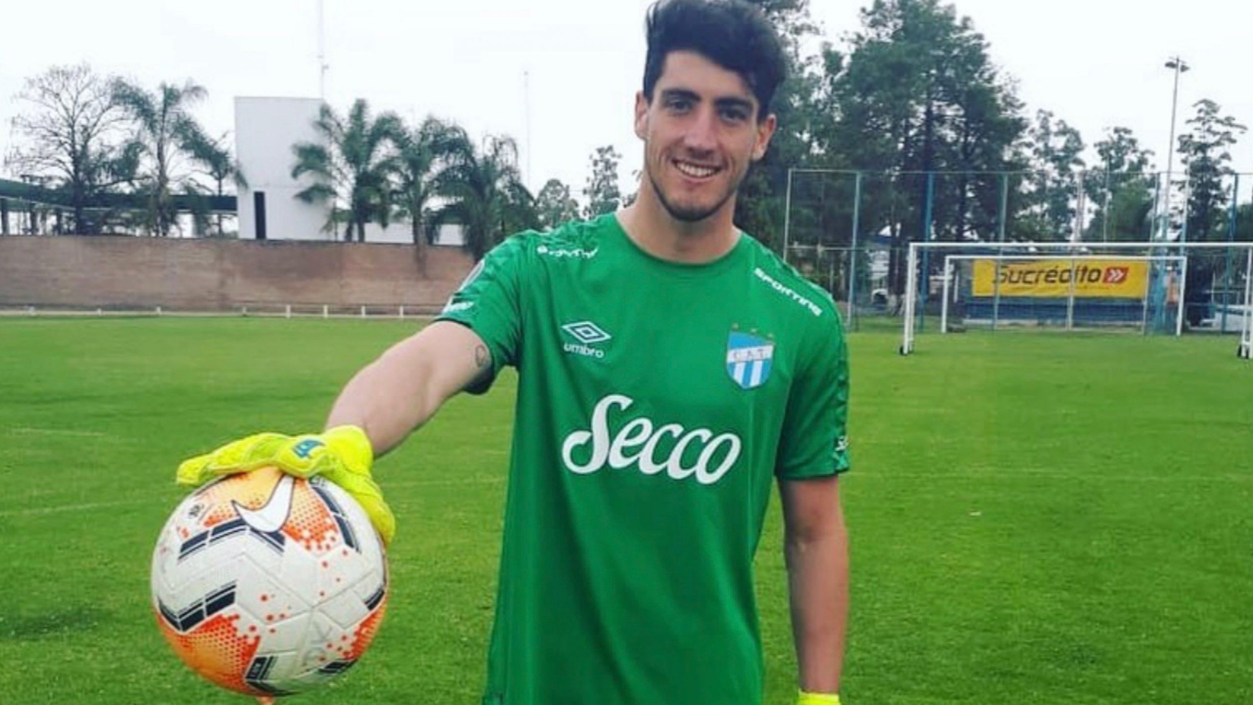 Tomás Marchiori y su alegria por estar en Atlético Tucumán