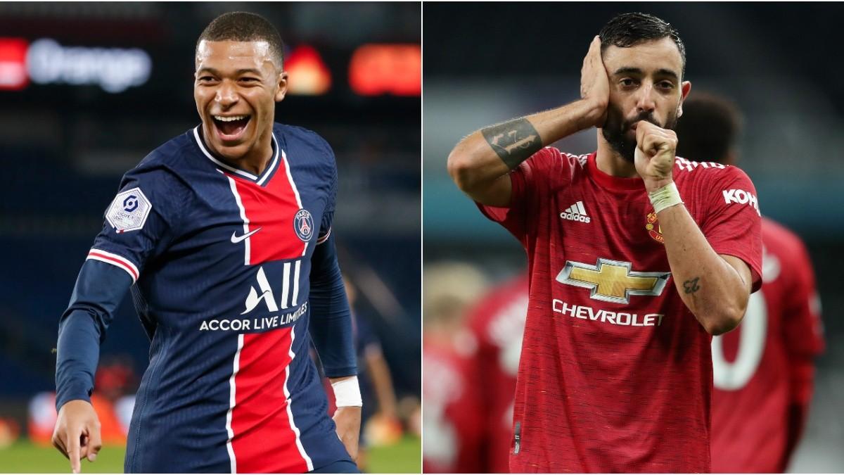 PSG y Manchester United se miden en un partidazo en la Champions League