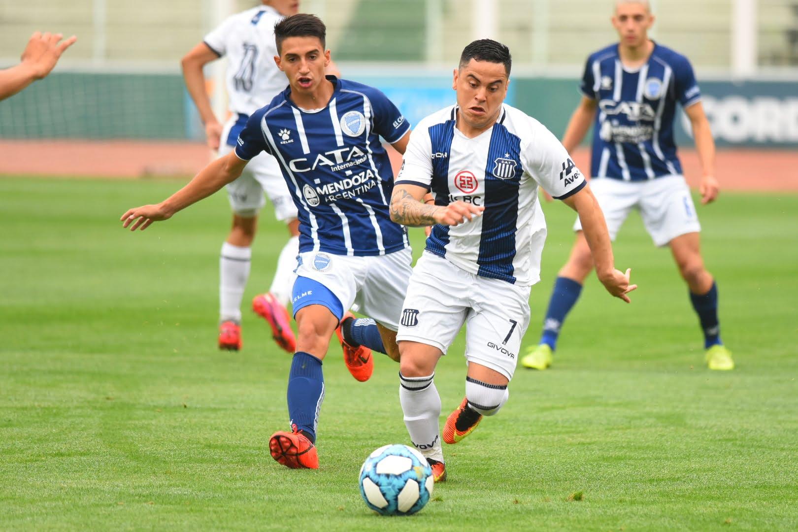 Los goles de la victoria de Godoy Cruz ante Talleres