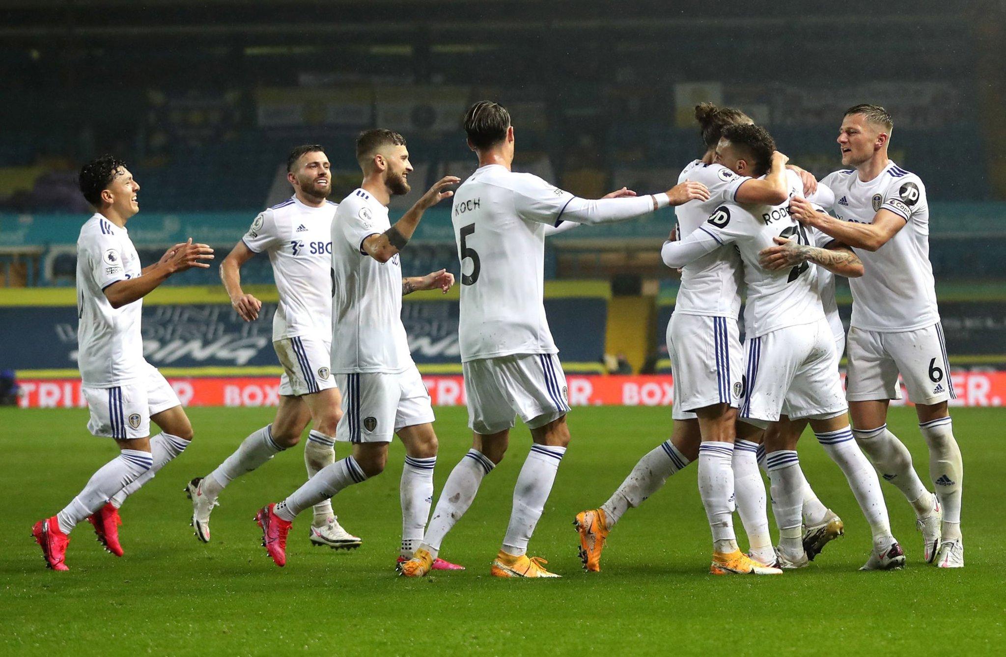 El Leeds de Bielsa empató 1 a 1 ante el Manchester City