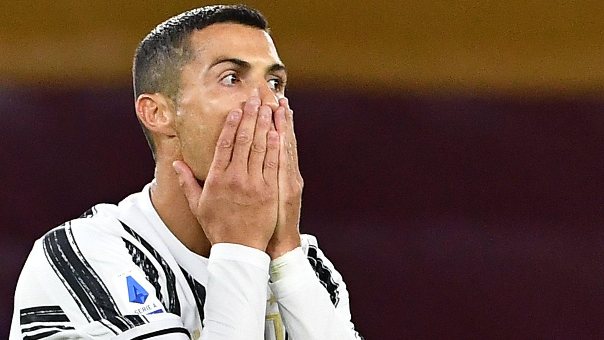Cristiano Ronaldo volvió a dar positivo y no jugará ante Barcelona
