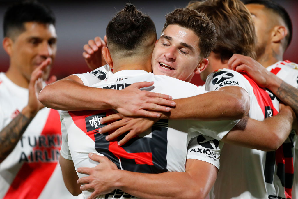 River goleó a Liga de Quito y se clasificó como el mejor de su grupo