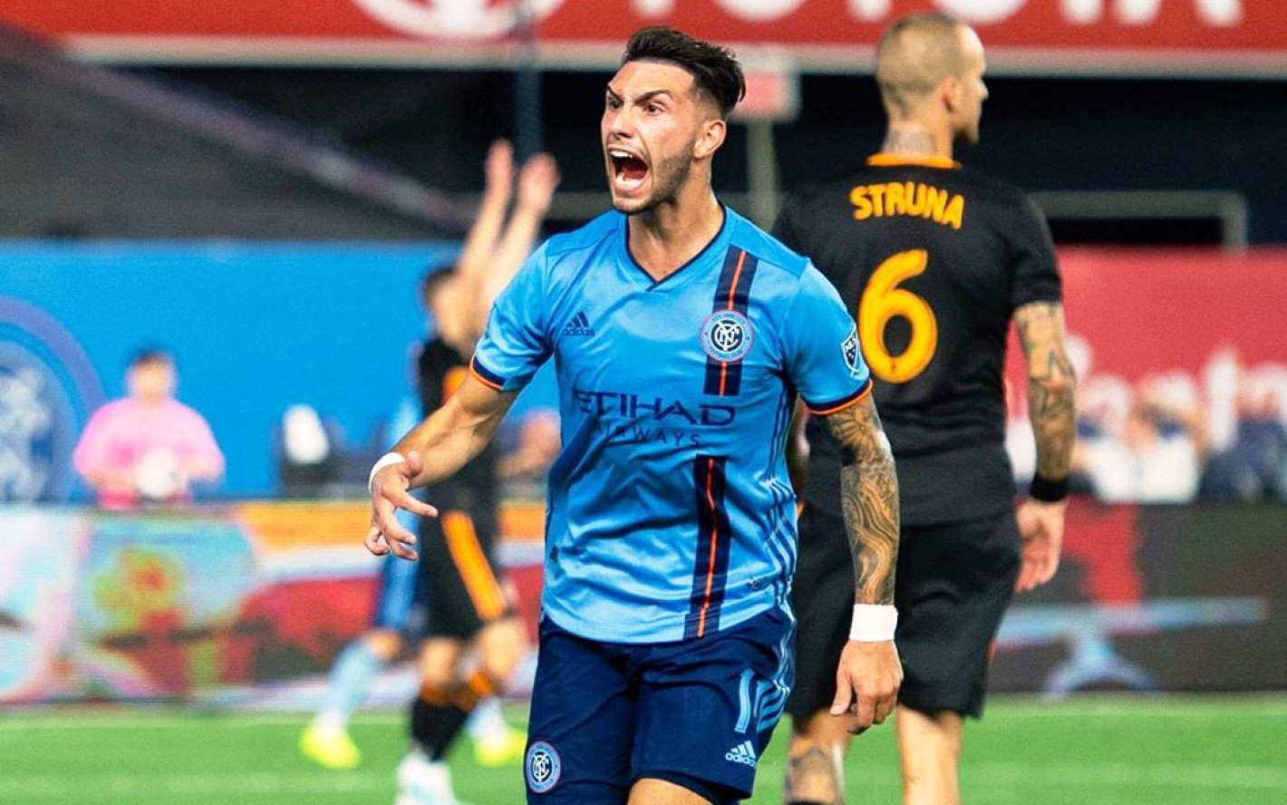 El mendocino Valentín Castellanos marcó un gol en la MLS