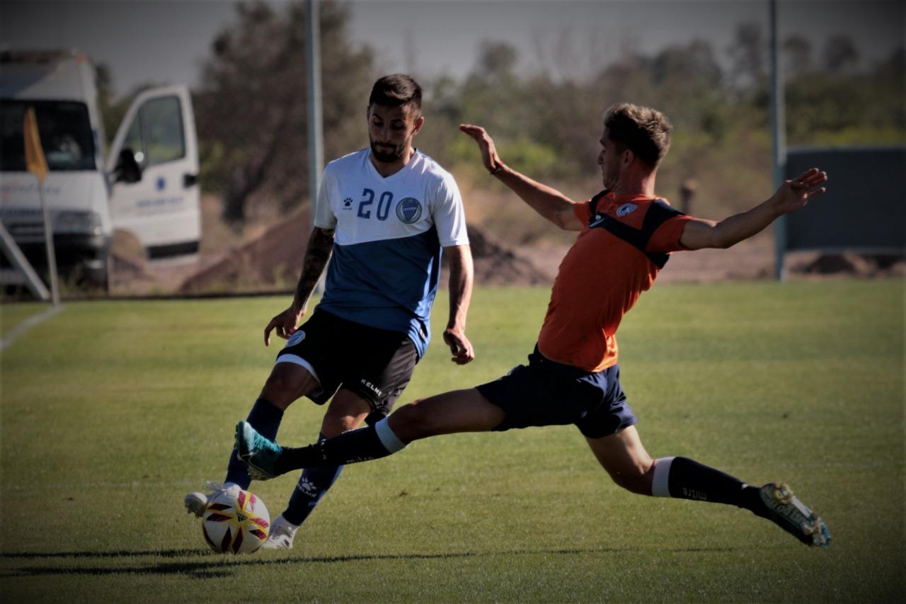 Godoy Cruz e Independiente Rivadavia juegan un amistoso en Coquimbito