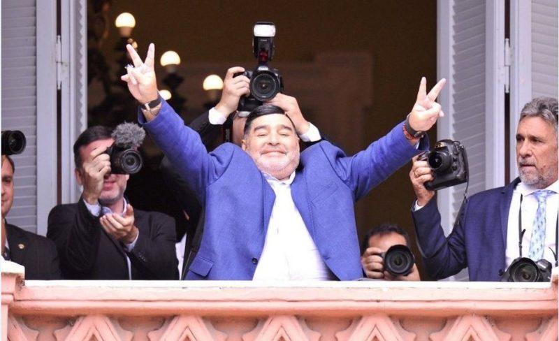 Diego Maradona y un sentido mensaje por el Día de la Lealtad