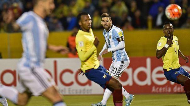 Cambio de horario para el partido de Argentina ante Ecuador