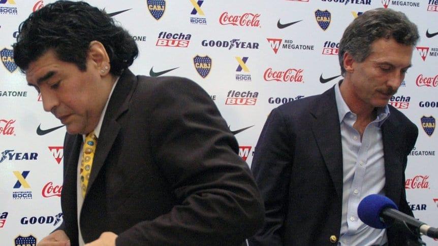 Maradona le dio con todo a Macri y pidió apoyar al Gobierno actual