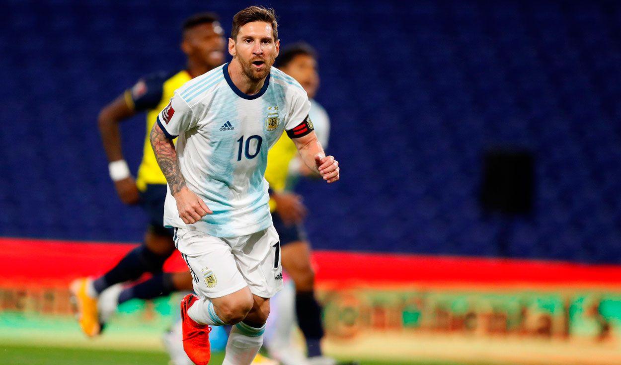 Messi podría perderse el partido ante Paraguay