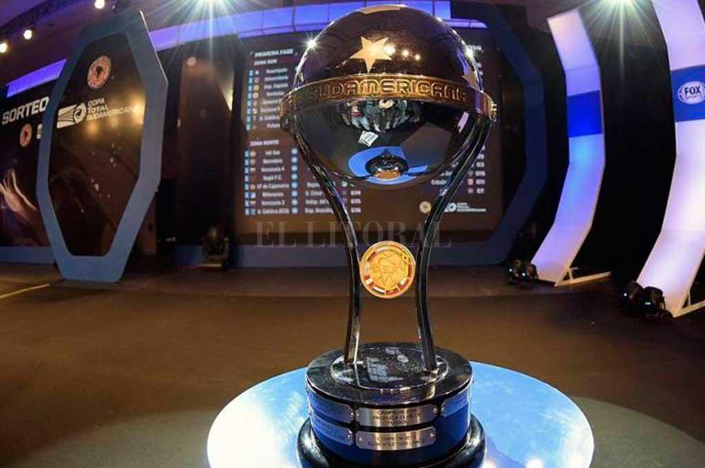 Así será el sorteo de la Copa Sudamericana