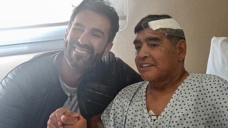 El emotivo mensaje del médico de Maradona tras la operación