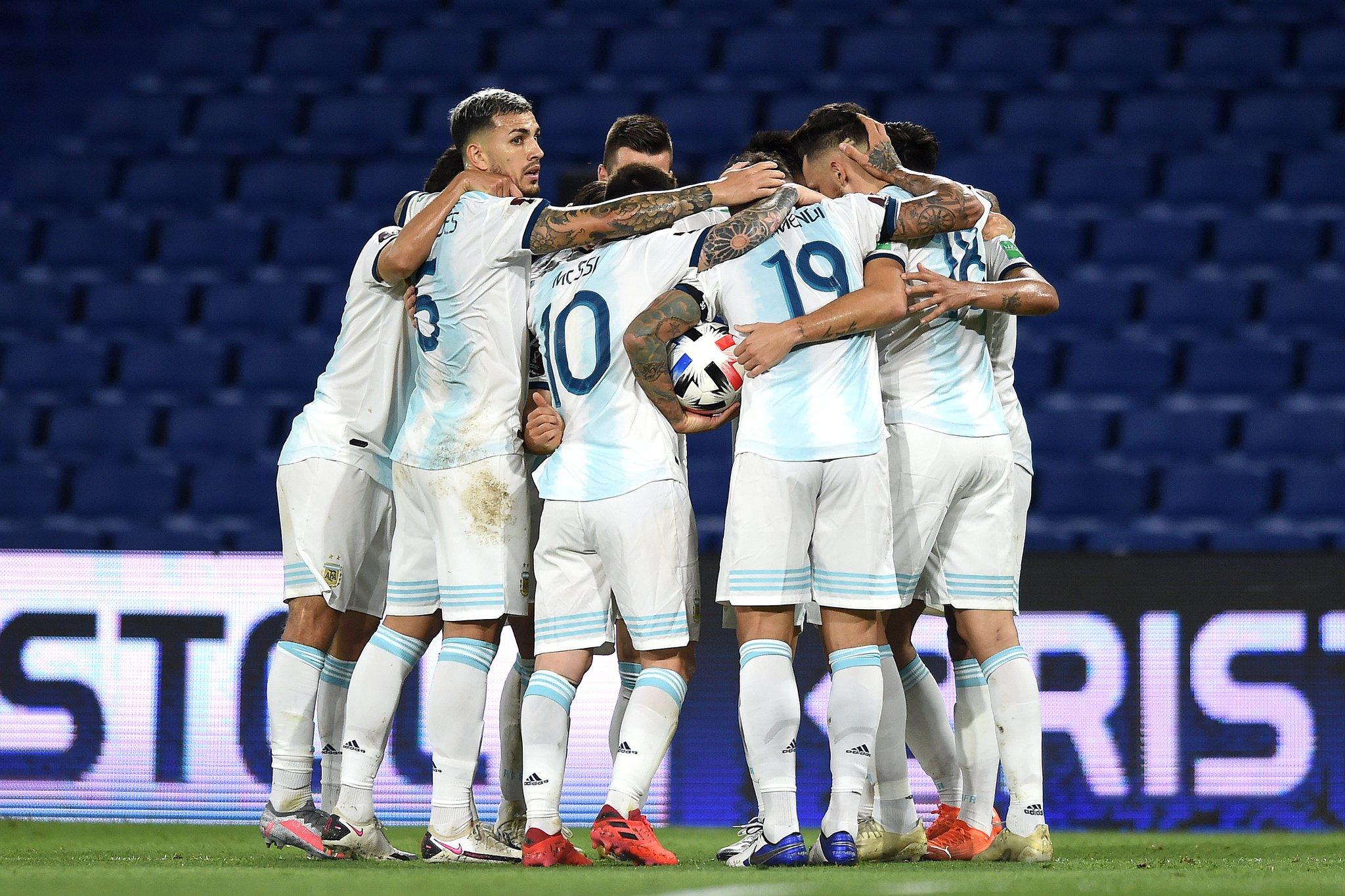 Argentina empató 1-1 con Paraguay en La Bombonera