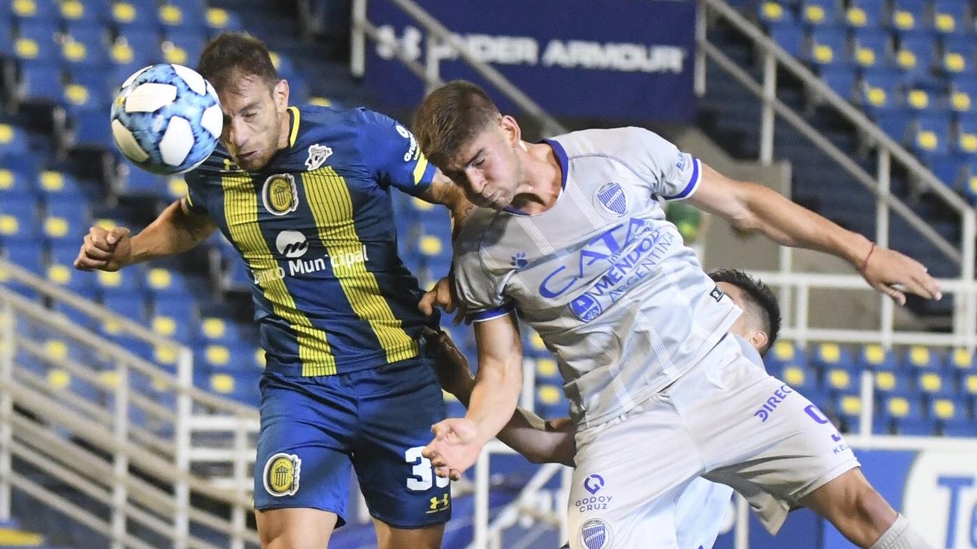 Rosario Central le gana 1 a 0 a Godoy Cruz