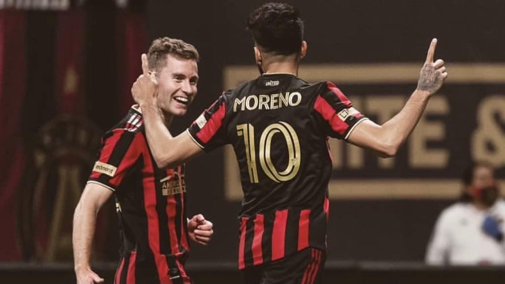 El mendocino Marcelino Moreno y su primer gol en Estados Unidos
