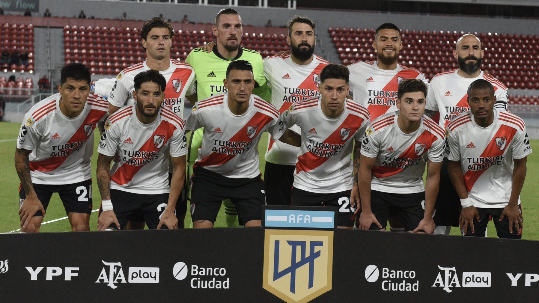 Con Enzo Pérez de defensor, así formará River contra Godoy Cruz