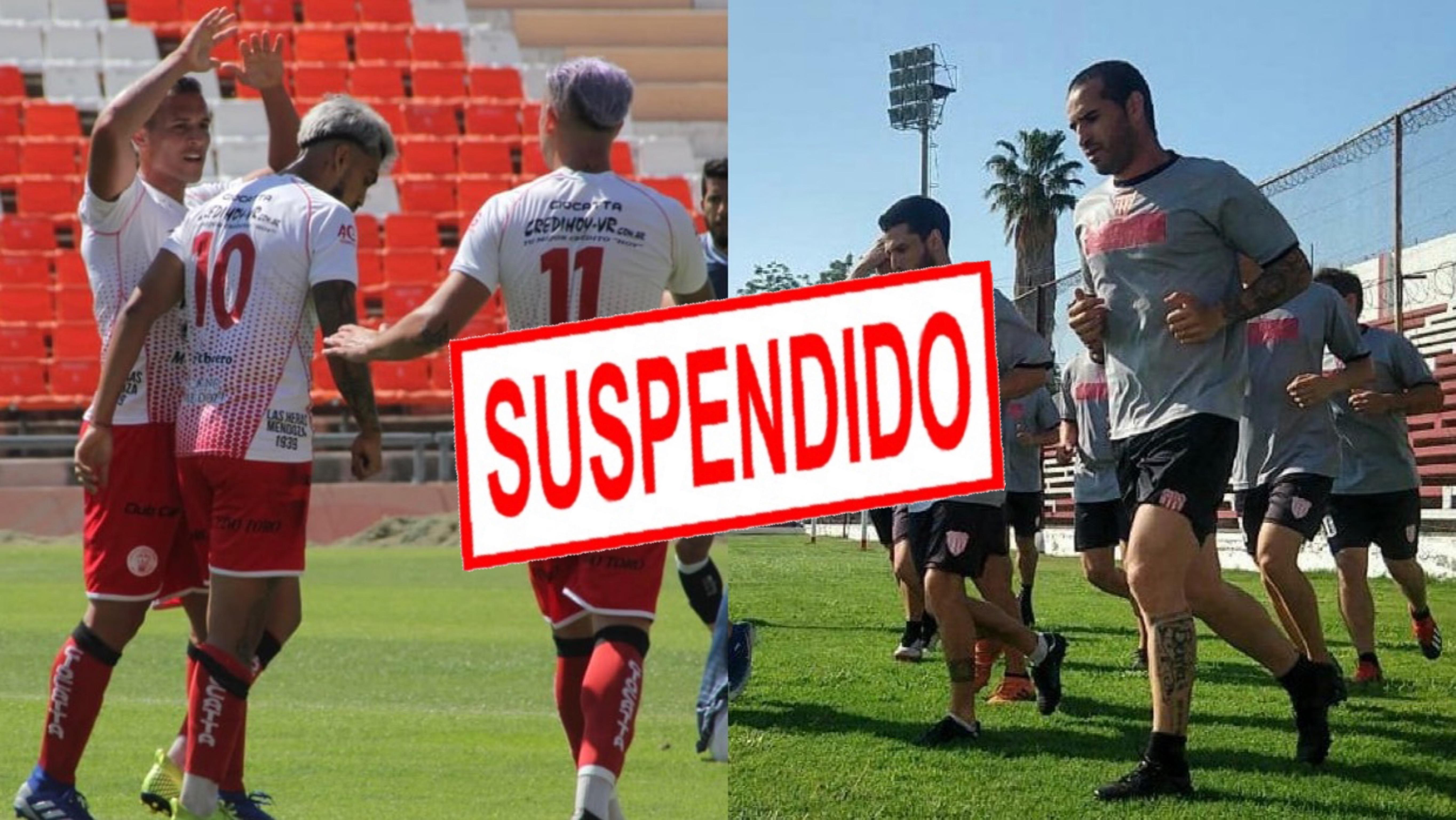 Se suspendió el partido entre San Martín y Huracán Las Heras