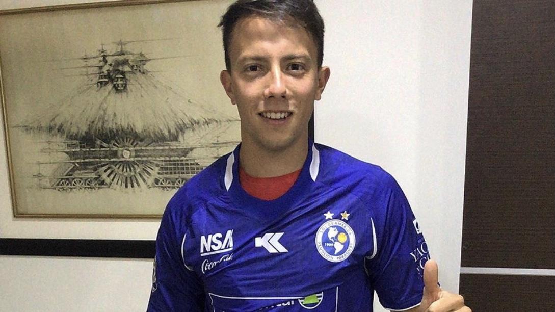 Santiago Úbeda debutó en la Copa Sudamericana