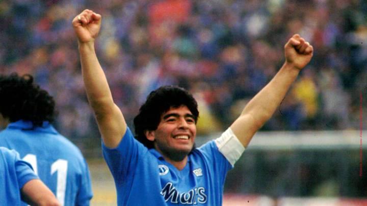 El estadio del Napoli se llamará Diego Armando Maradona