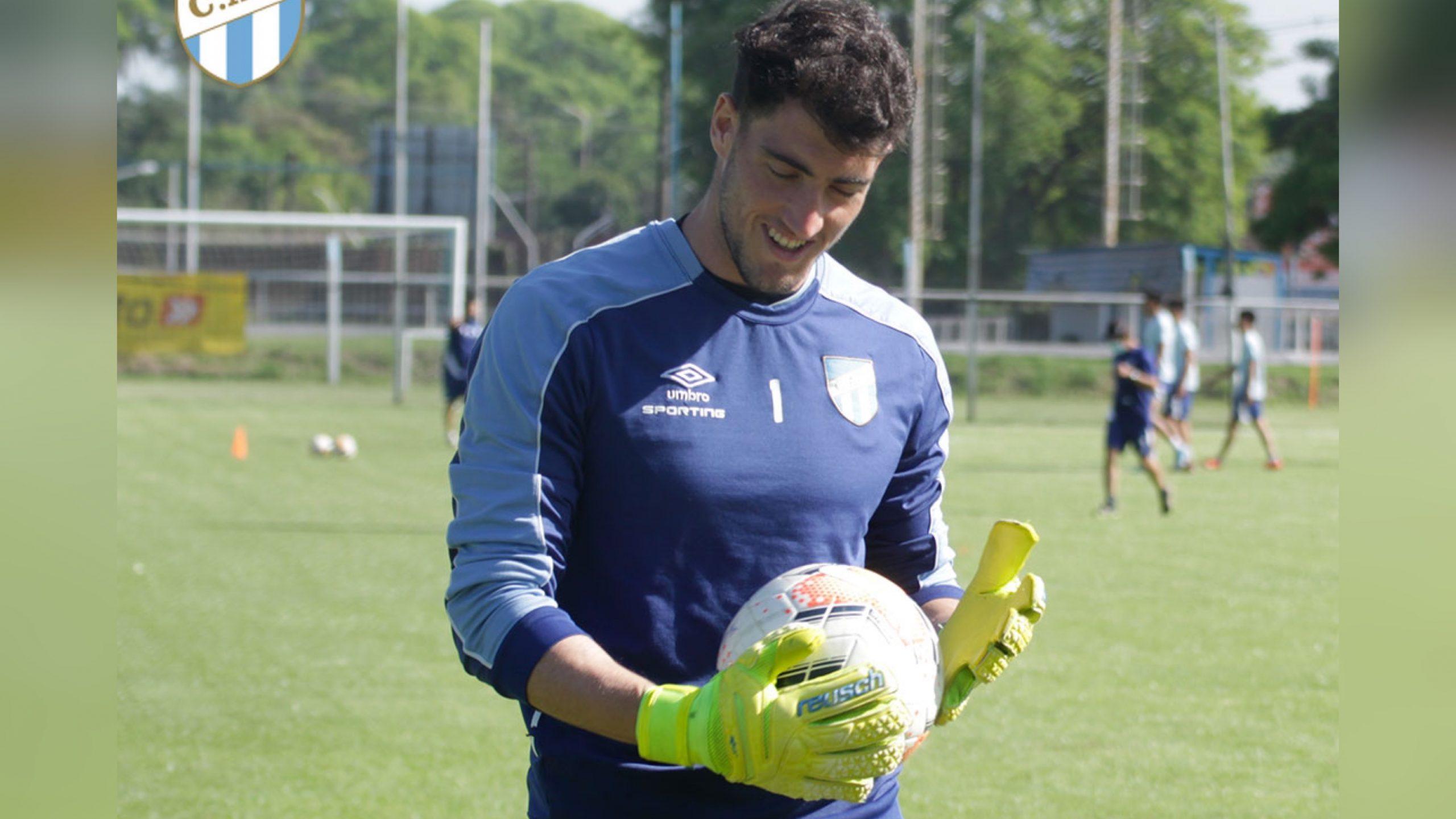 Tomás Marchiori y su felicidad por debutar en Primera