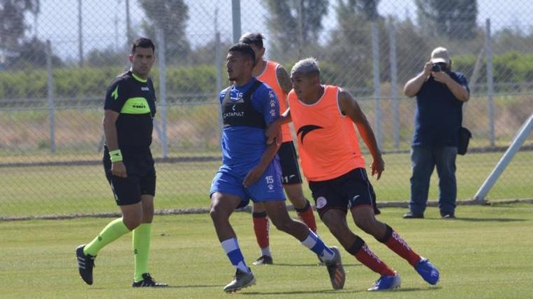 Godoy Cruz y Huracán Las Heras igualan 1 a 1  en Coquimbito
