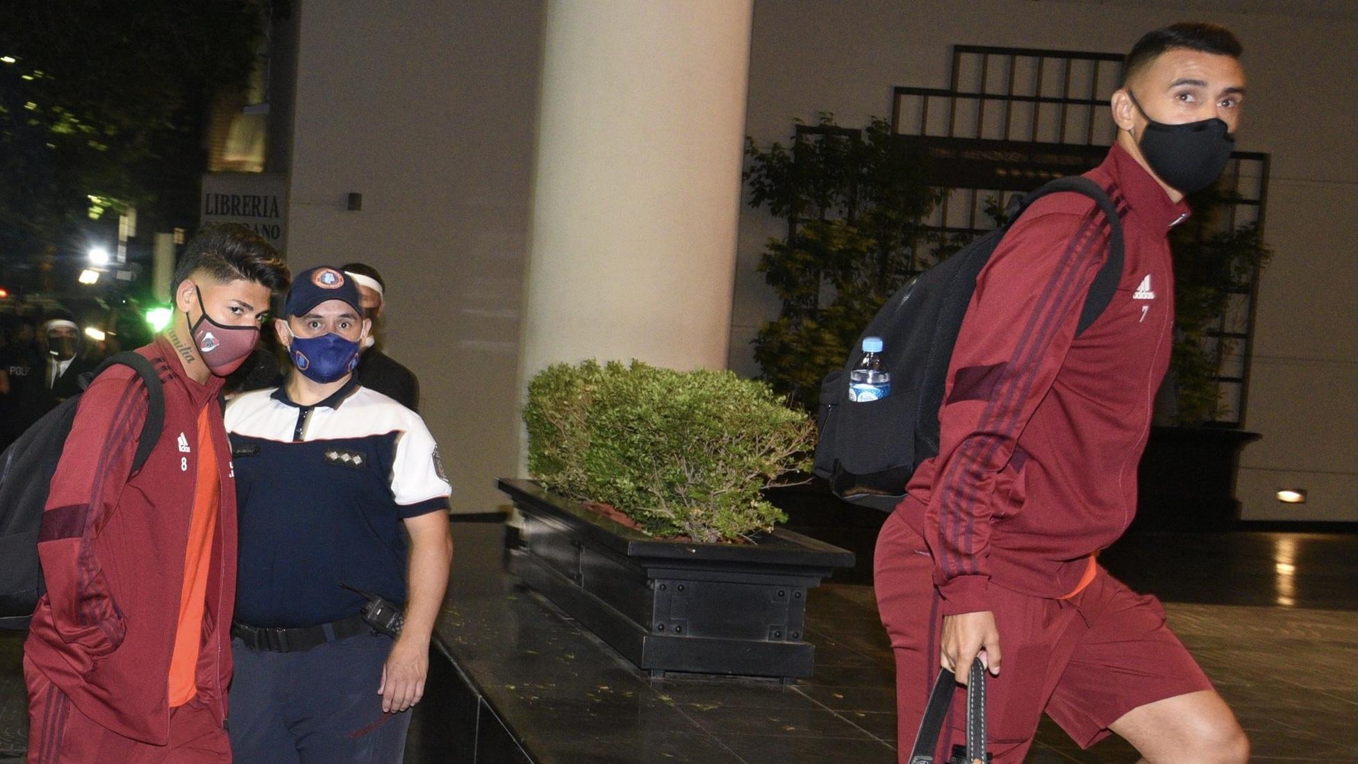 River llegó a Mendoza para enfrentar a Godoy Cruz